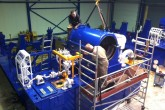 Overhaul Siemens lubrication and control oil systems